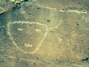 petroglyph at La Ceinguilla